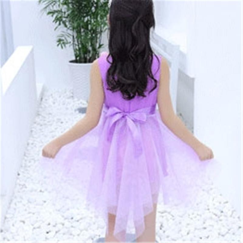 Floral Mesh Dress for Girl Wholesale Children's Clothing