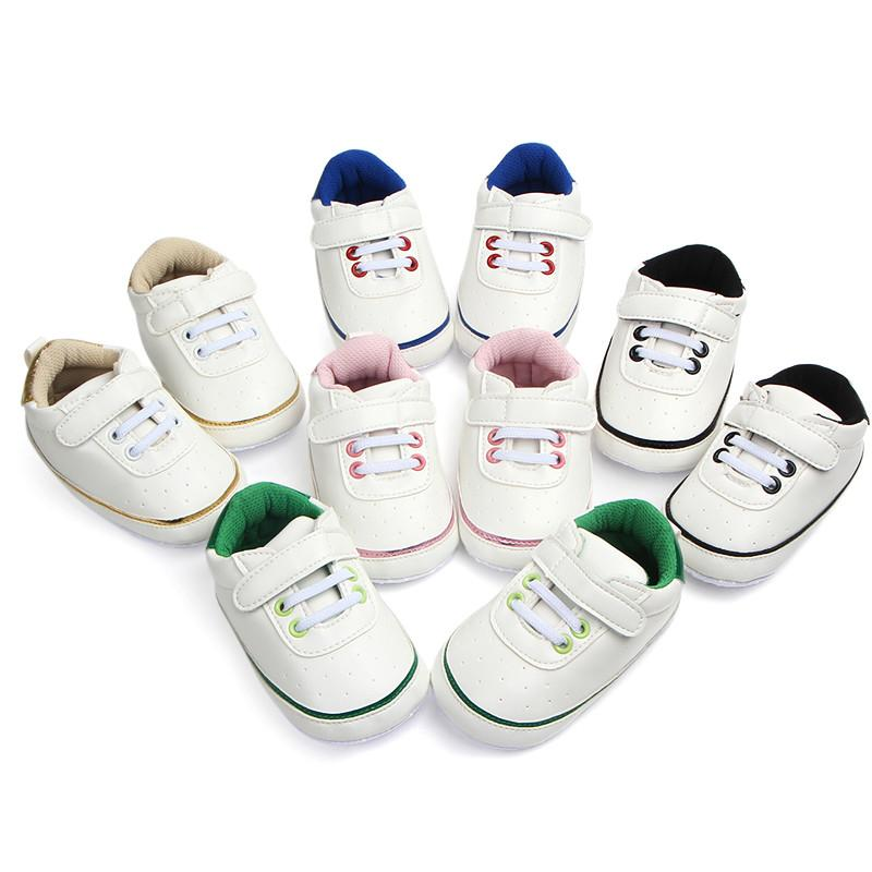 Classic British Style Velcro Baby Shoes
