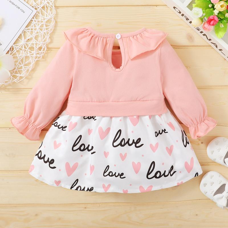 Ruffle Dress for Baby Girl Wholesale children's clothing