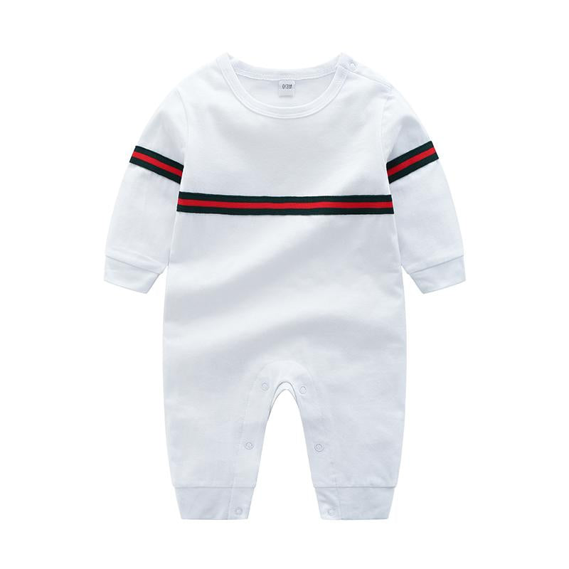 Cotton Striped Jumpsuit for Baby Children's clothing wholesale - PrettyKid