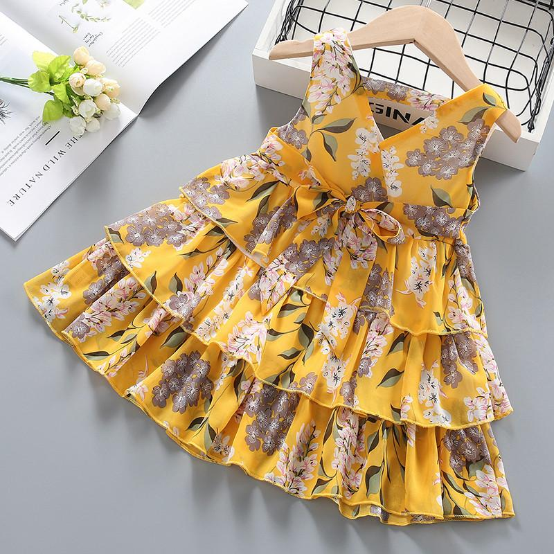 Floral Dress for Toddler Girl Wholesale children's clothing - PrettyKid