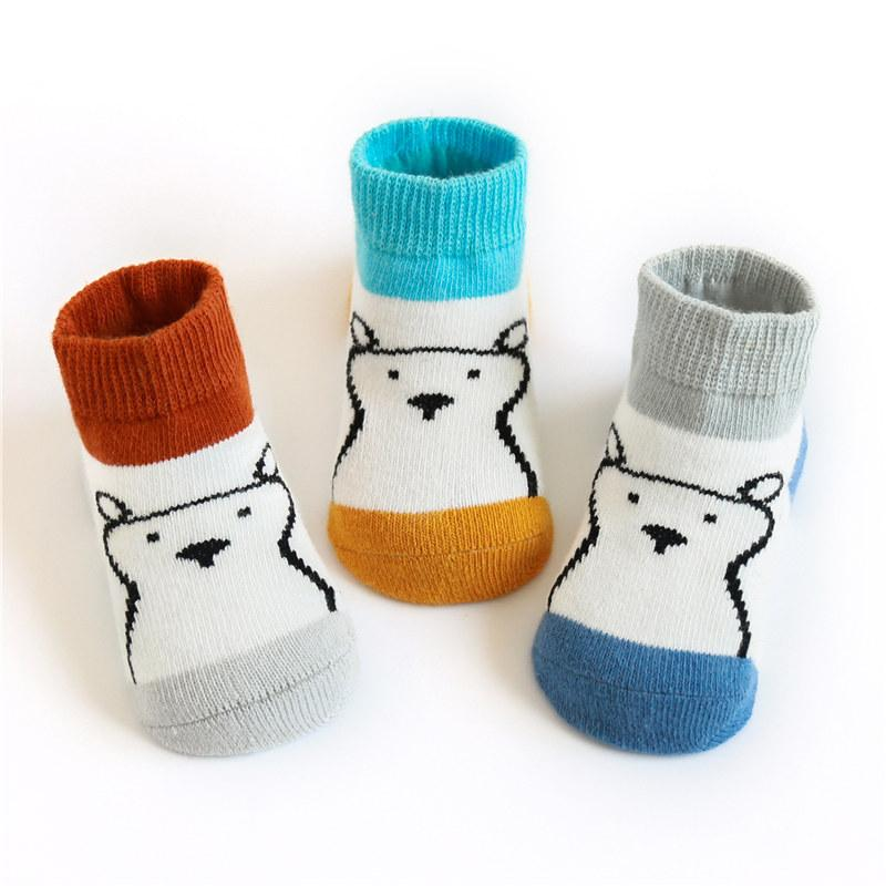 Cotton Animal Socks for Baby Boys - PrettyKid