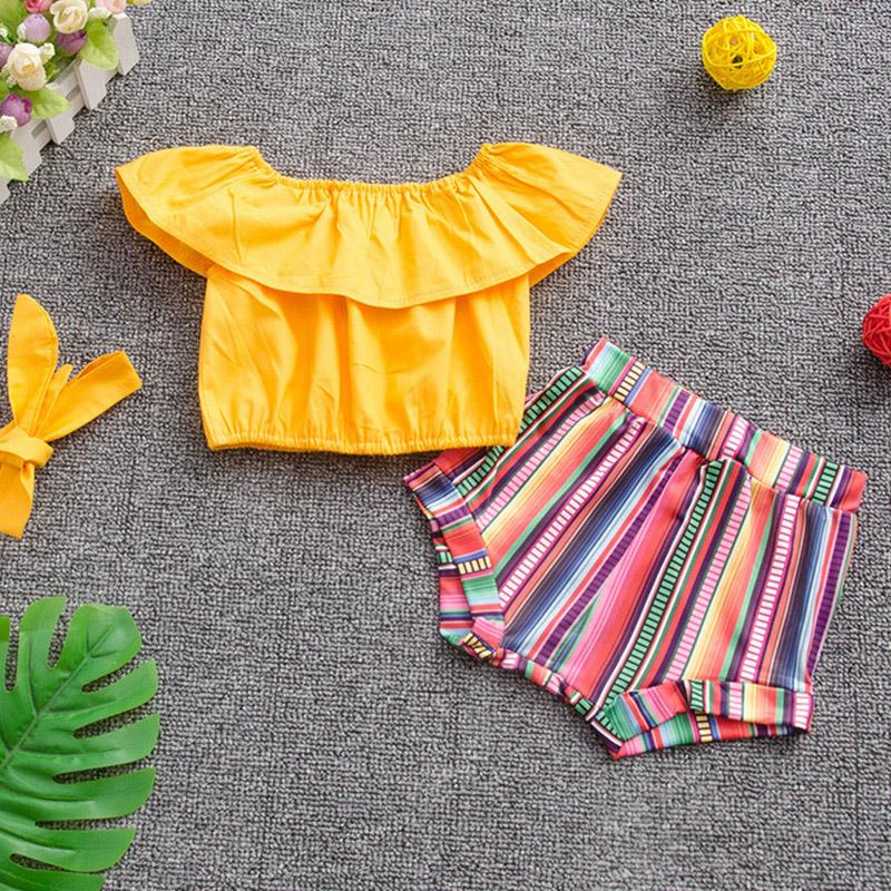 3pcs Top camouflage short style baby style suit Wholesale children's clothing - PrettyKid