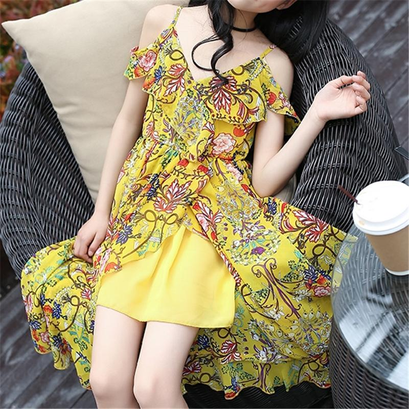 Floral Dress for Girl Wholesale Children's Clothing