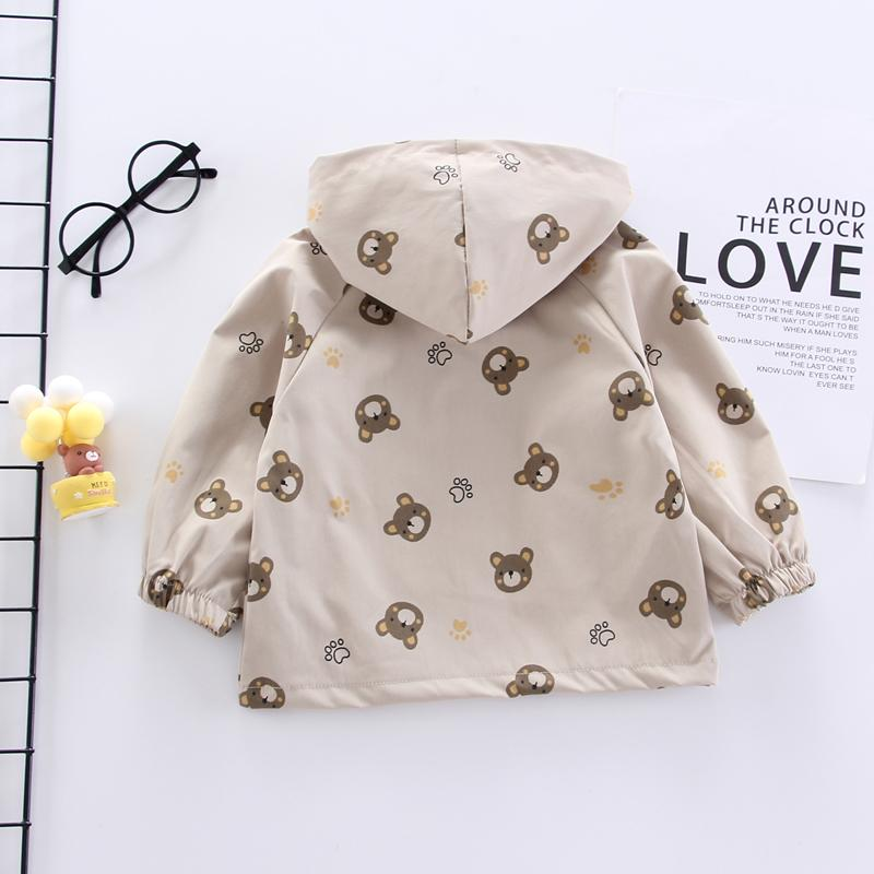 Fashion Cartoon Bear Jacket Wholesale children's clothing