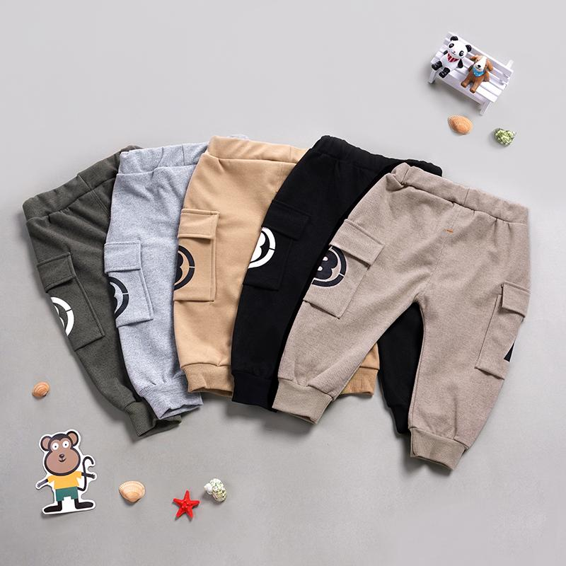 Letter Pattern Casual Pants Wholesale children's clothing