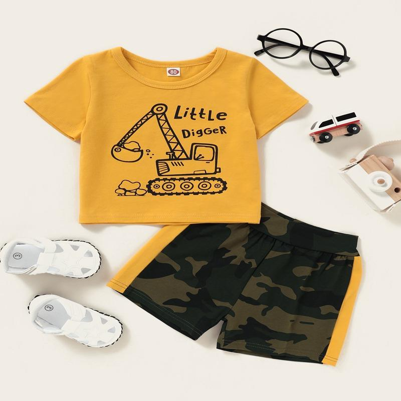 2-piece T-shirt & Shorts for Baby Boy - PrettyKid
