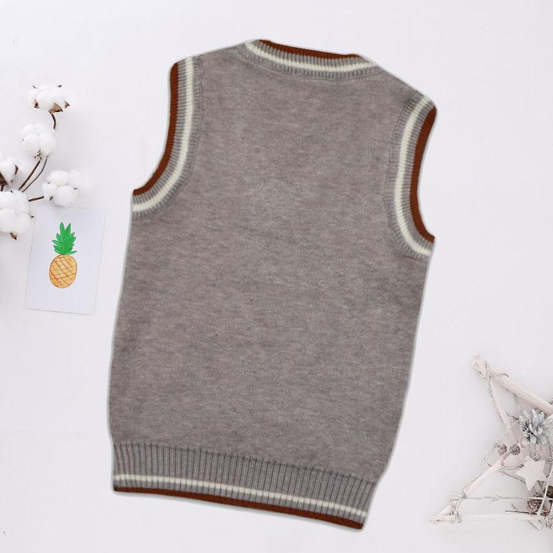 Letter Pattern Gilet for Toddler Boy Wholesale children's clothing