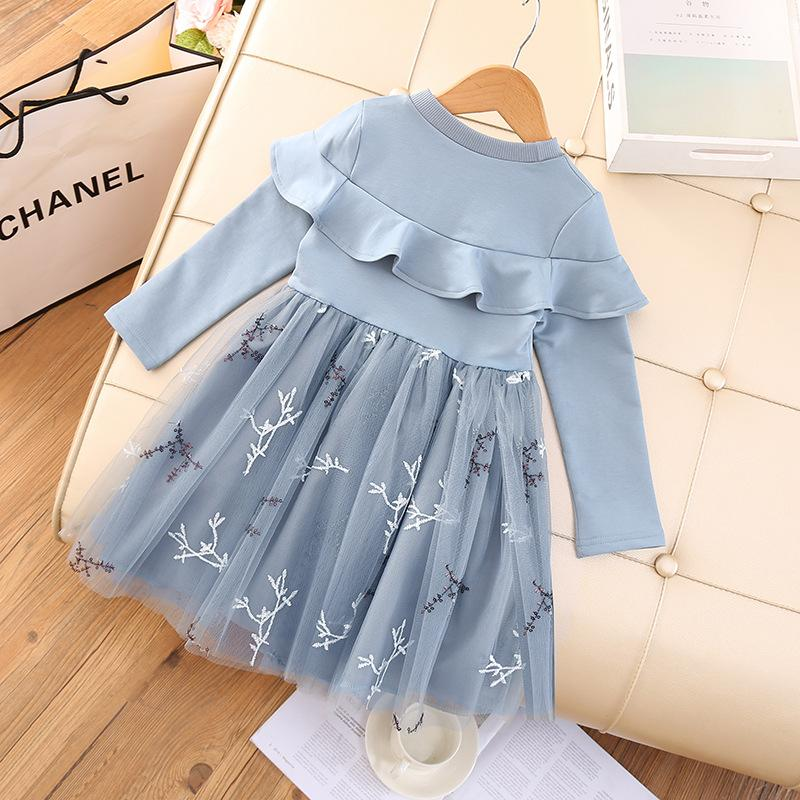 Princess Lace Dress for Girl Wholesale children's clothing