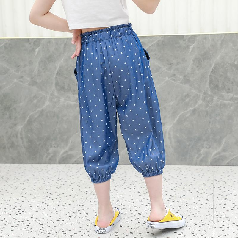 1 Pieces Polka Dot Casual Pants Wholesale children's clothing