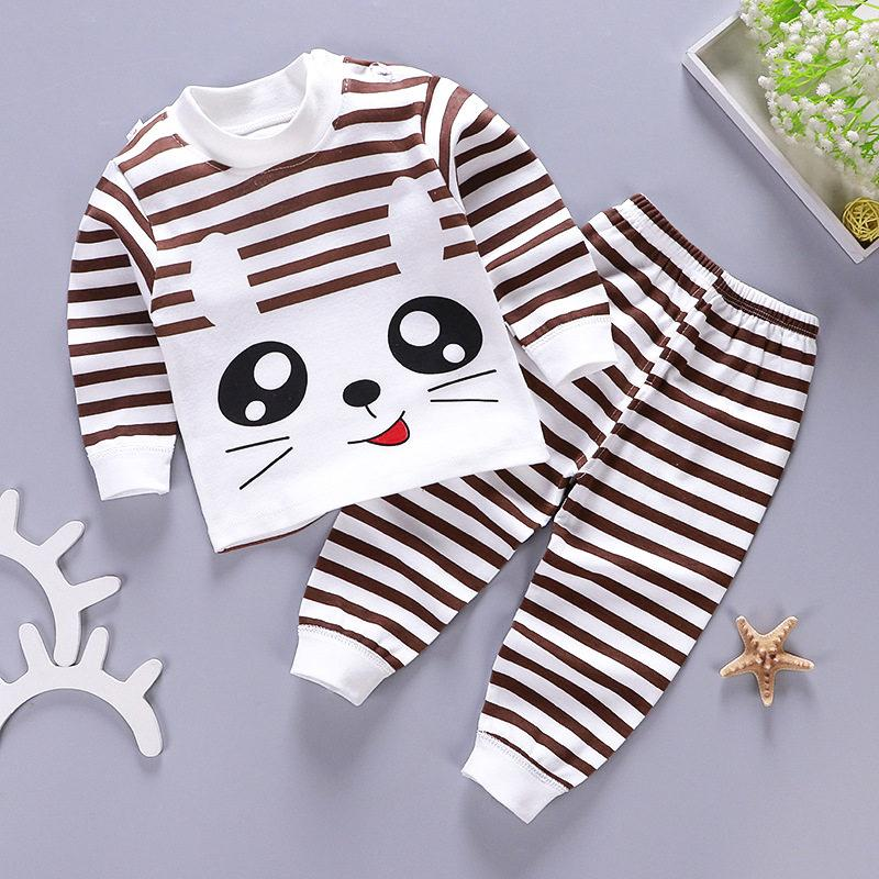 2-piece Stripes Pajamas & Pants for Children Boy - PrettyKid