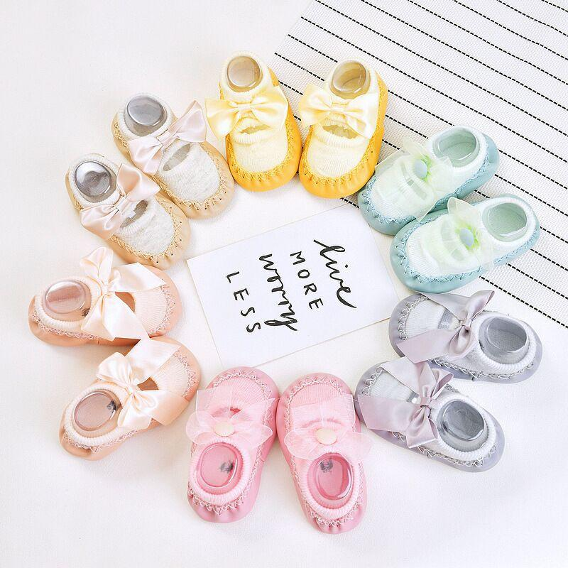 Bowknot Low Cut Socks for Baby - PrettyKid