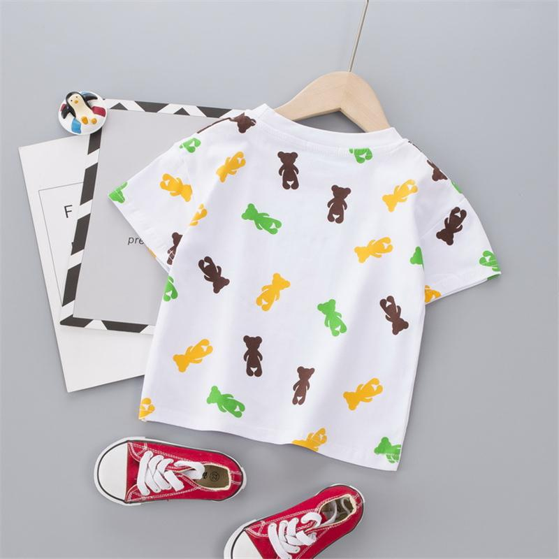Letter Pattern T-shirt for Children Boy