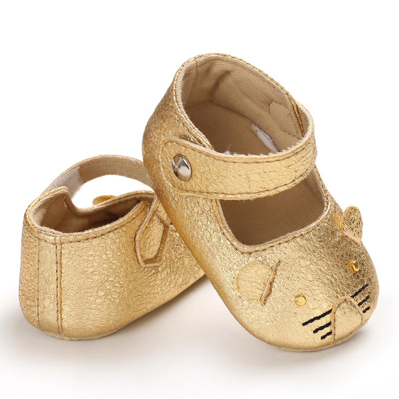 Velcro Design Soft Toddler Shoes for Baby Girl Wholesale children's clothing