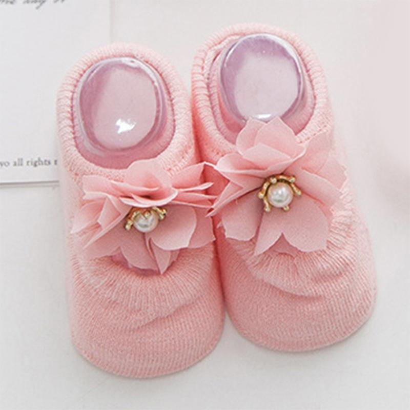 Solid Antiskid Baby Socks Wholesale children's clothing