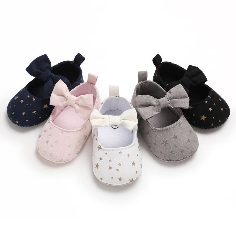Mommy And Me Shirts Wholesale Velcro Bowknot Baby Shoes