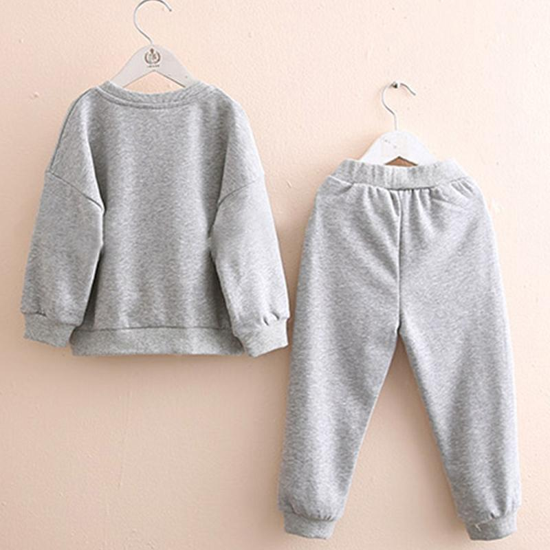 2-piece Unicorn Pattern Sweatshirt & Pants for Girl Wholesale children's clothing