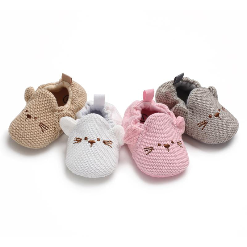 Bikini Hot Spring Set of Feet Design Shoes for Baby