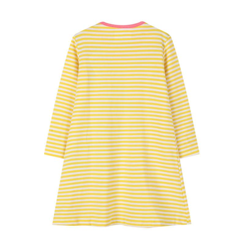 1-piece Striped Dress For Girls Wholesale children's clothing
