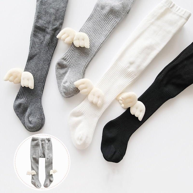 Wing Footless Leggings Tights Wholesale Children's Clothing