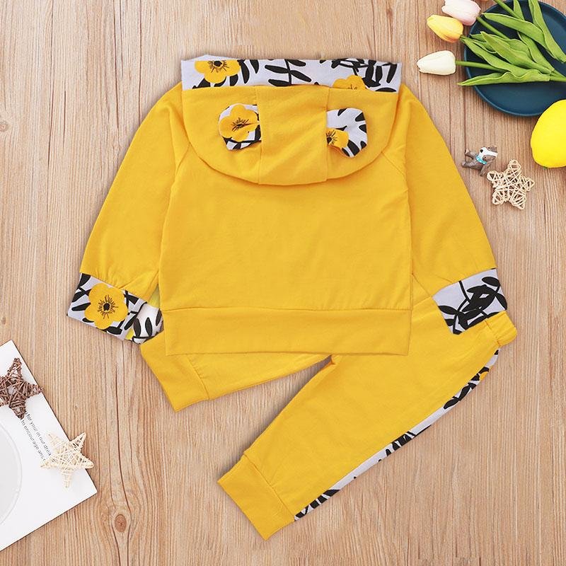 2-piece Letter Pattern Hoodie & Pants for Baby Boy Wholesale children's clothing