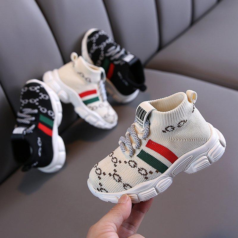 Color Block Overalls Sport Shoes for Children Boy