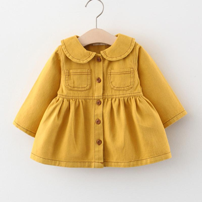 Denim Dress for Toddler Girl Wholesale Children's Clothing