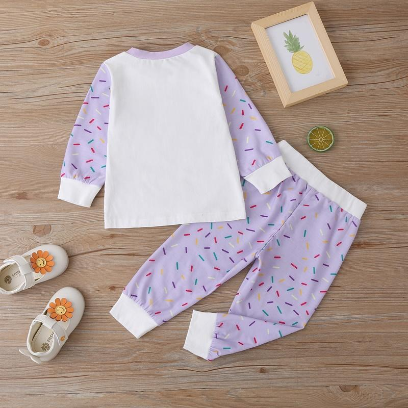 2-piece Pajamas Sets for Baby Girl Wholesale children's clothing
