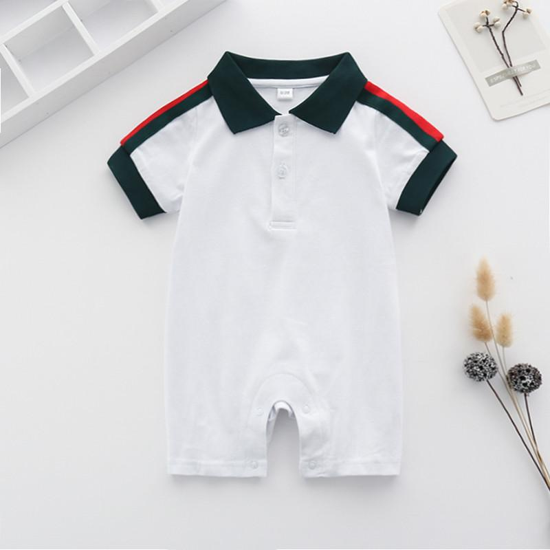 Color-block Lapel Collar Jumpsuit for Baby Boy Children's clothing wholesale - PrettyKid