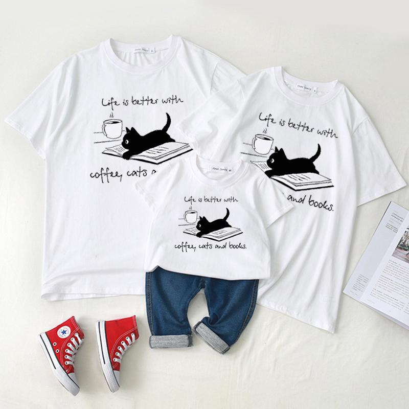 Family wear baby crawl wear short - sleeved t - shirt summer wear Wholesale children's clothing