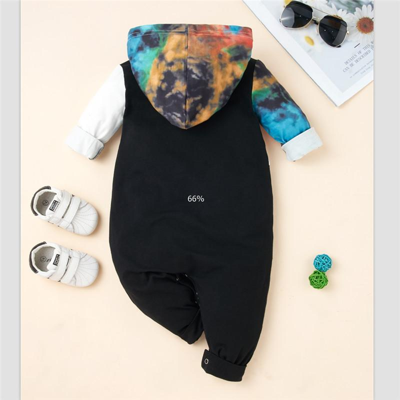 Tie dye Jumpsuit for Baby Boy Wholesale children's clothing