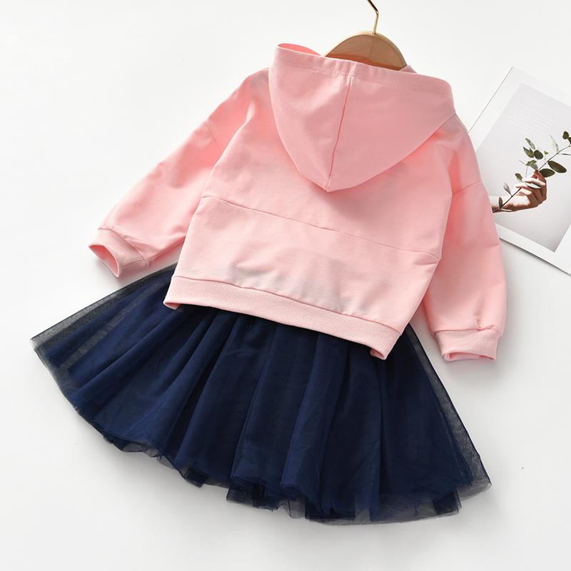 2-piece Hooded & Skirt for Toddler Girl Wholesale Children's Clothing
