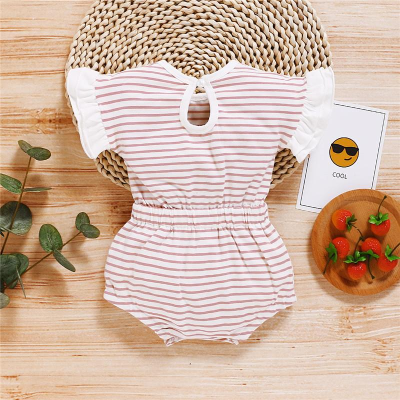 1-piece Summer Pure Cotton Bodysuit for Baby Girls Wholesale children's clothing