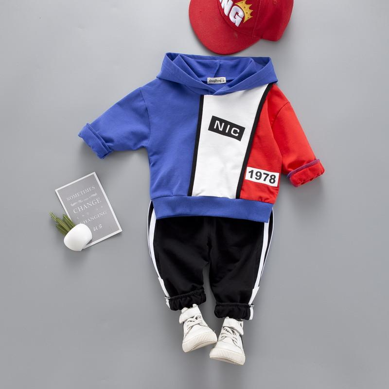 2-piece Hoodie & Pants for Toddler Boy Wholesale children's clothing
