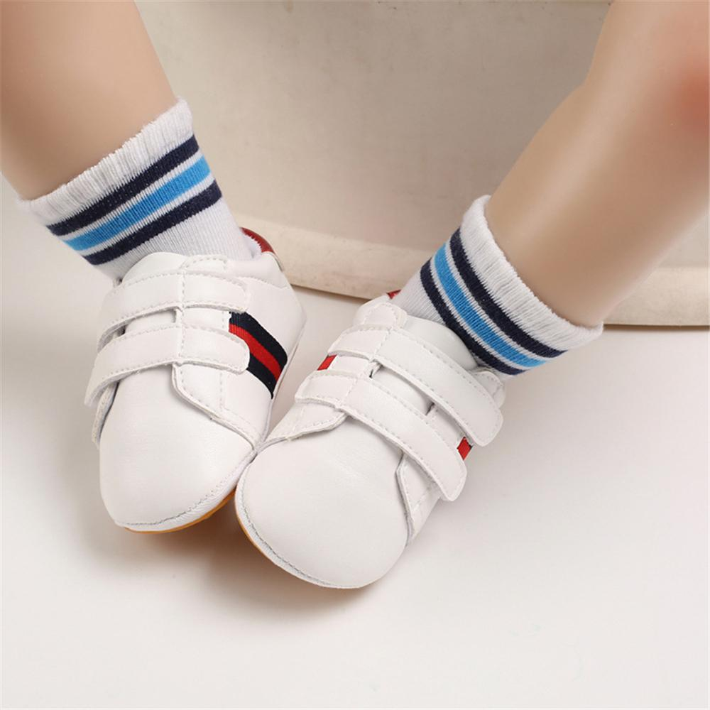 Baby Artificial PU Casual Magic Tape Sneakers Cheap Kid Shoes Wholesale - PrettyKid