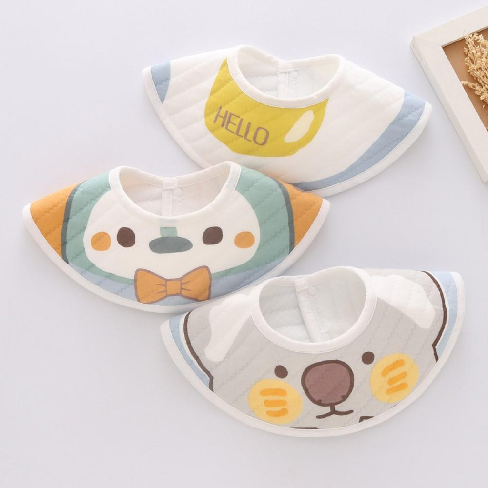 Baby 3PCS Waterproof Enlarged Baby Bibs Baby Accessories Wholesale