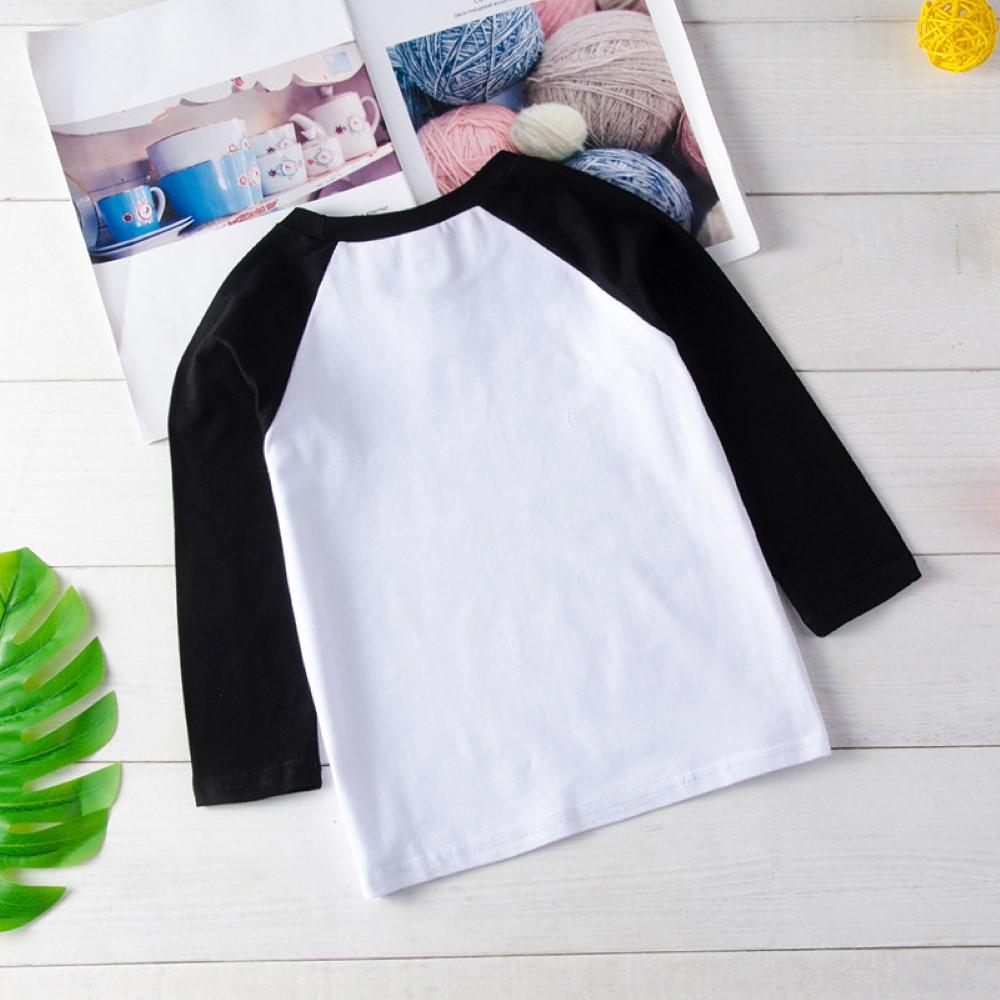 Boys Long Sleeve Letter Printed Top Wholesale Kids Clothing Distributors