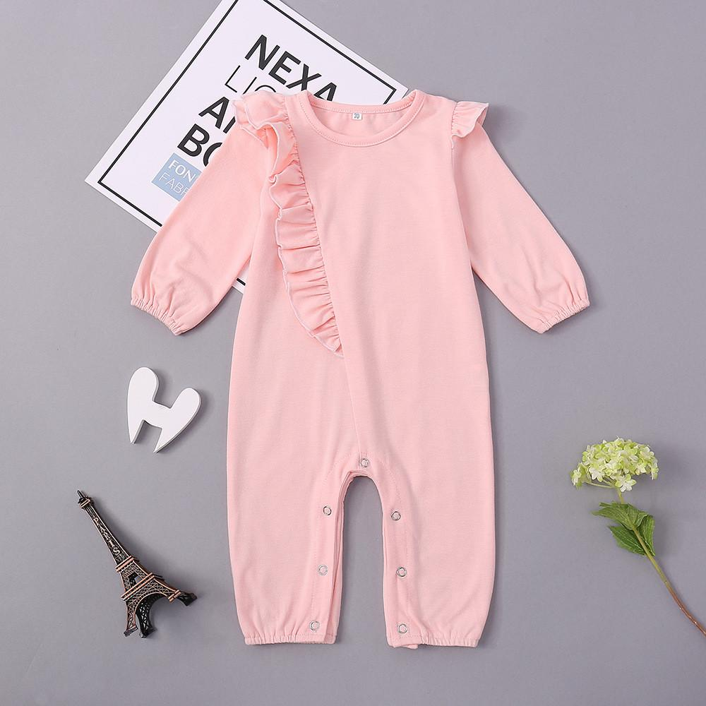 Baby Girls Long Sleeve Cotton Cute Romper Baby Accessories Wholesale - PrettyKid