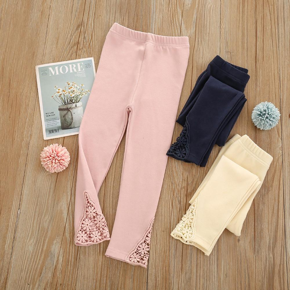 Baby Girls Solid Color Leggings Buy Children Clothes Wholesale - PrettyKid
