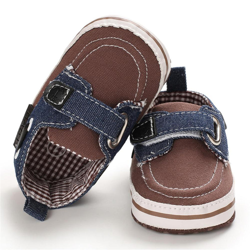 Baby Boys Boutique Plaid Slip On Shoes Childrens Shoes Wholesale - PrettyKid