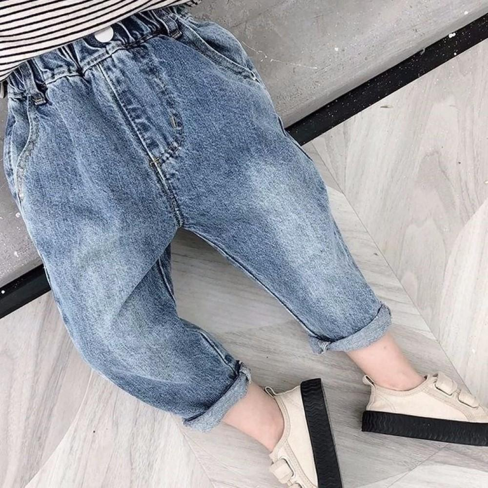 Boys Solid Causal Pants Wholesale Boys Jeans
