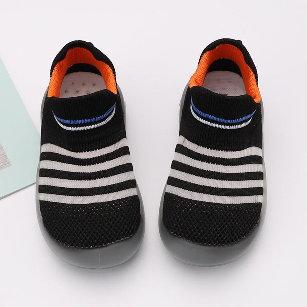 Baby Breathable Knitted Sock Flats Shoes