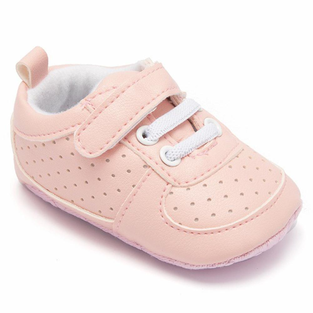 Baby Unisex Breathable Magic Tape Hollow Out Sneakers - PrettyKid