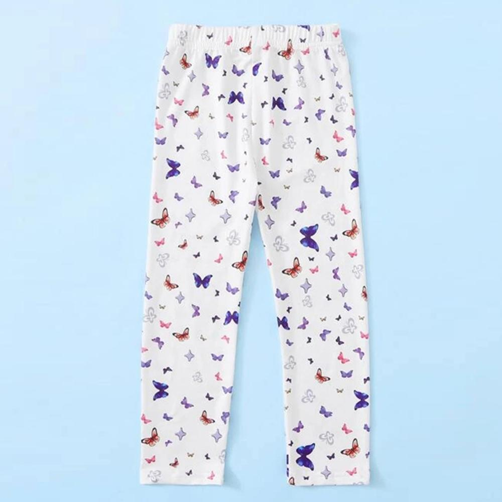 Toddler Girls Butterfly Casual Pants Girls Leggings Wholesale