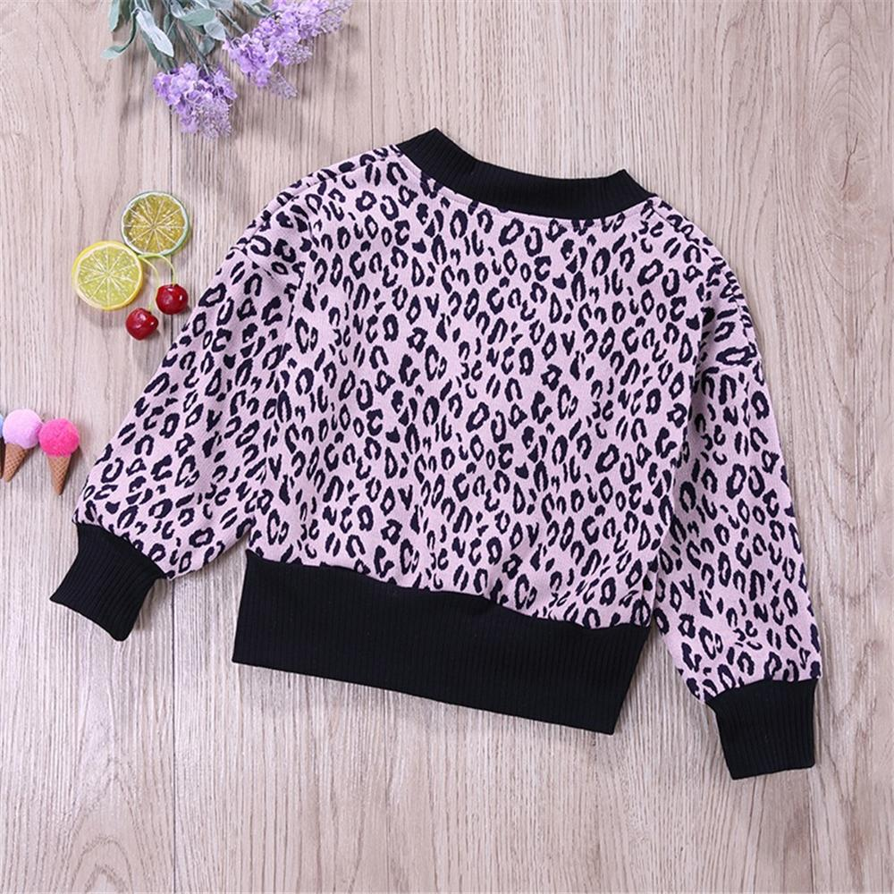Boys Button Leopard Printed Cardigan Tops Boy Wholesale Clothing