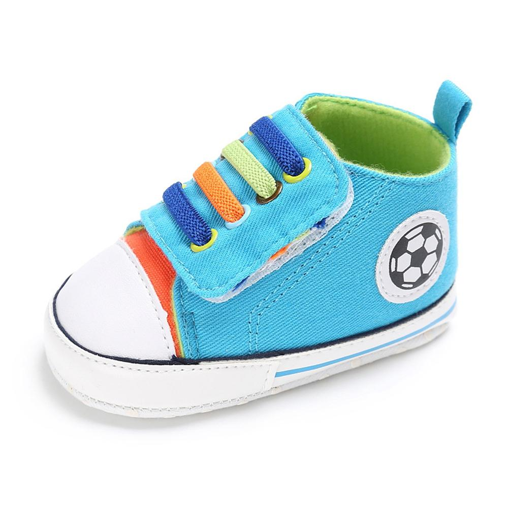 Baby Boys Canvas Magic Tape Sneakers Wholesale - PrettyKid