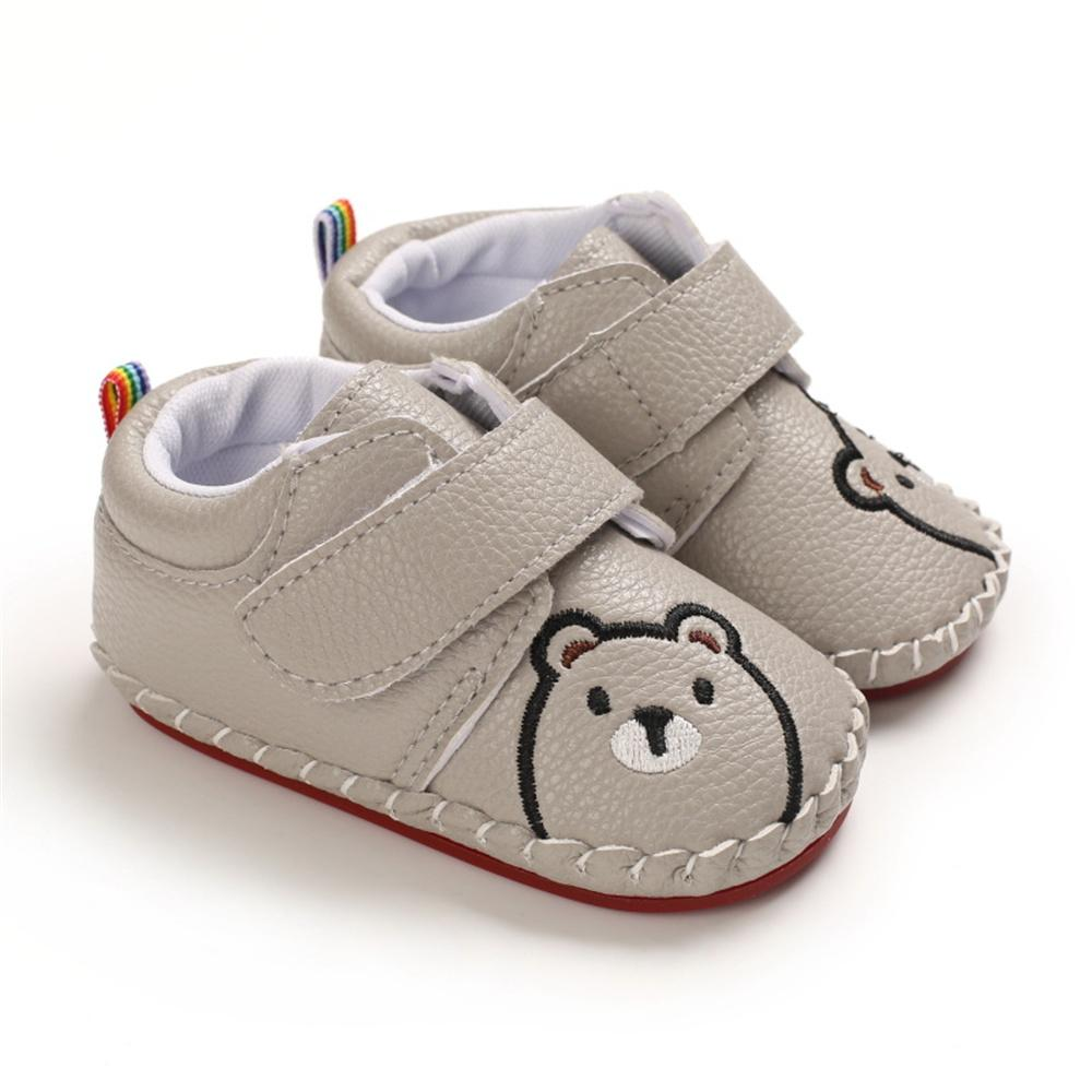 Baby Unisex Cartoon Bear Infant Shoes Wholesale Children Shoes - PrettyKid