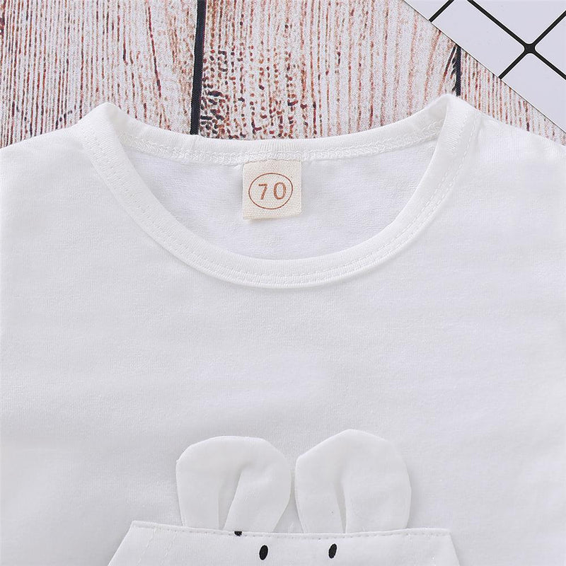 Baby Unisex Cartoon Cute Top & Pants Cheap Baby Boutique Clothes - PrettyKid