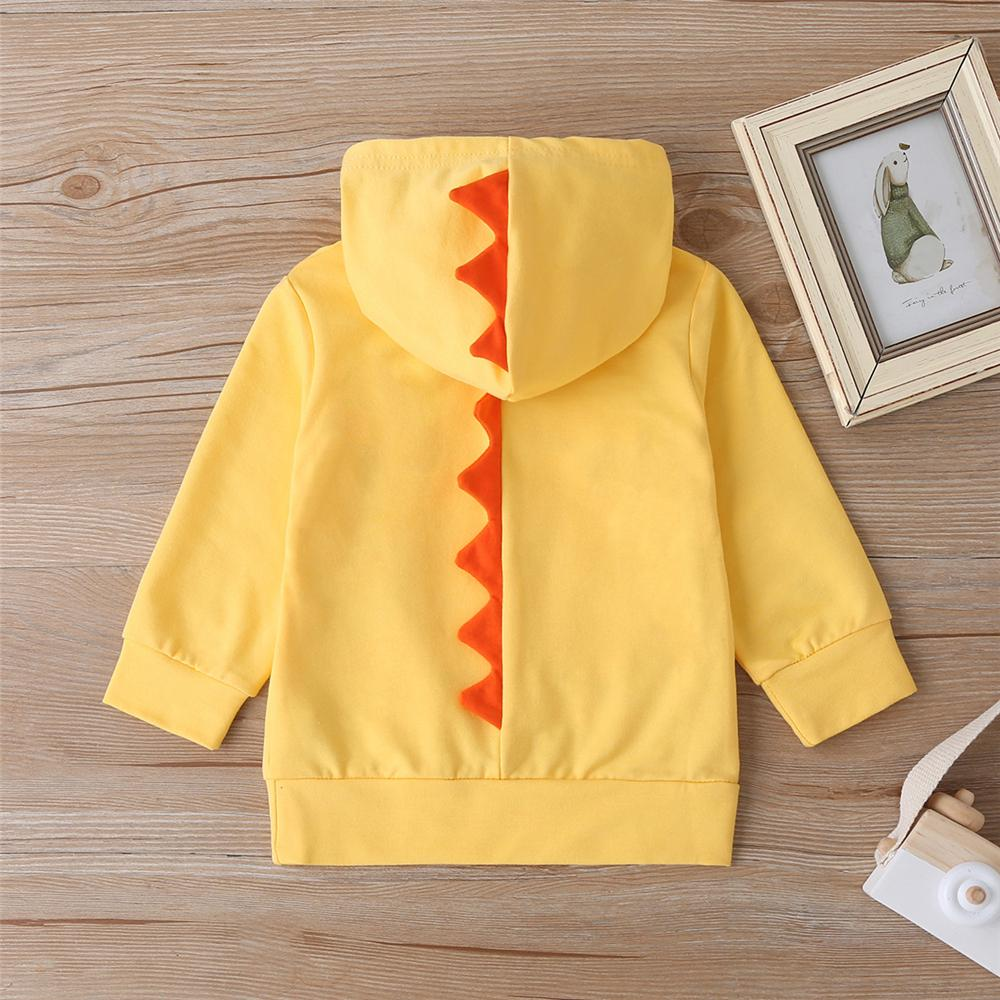 Baby Boys Cartoon Letter Printed Hooded Jumper Baby Clothes Cheap Wholesale