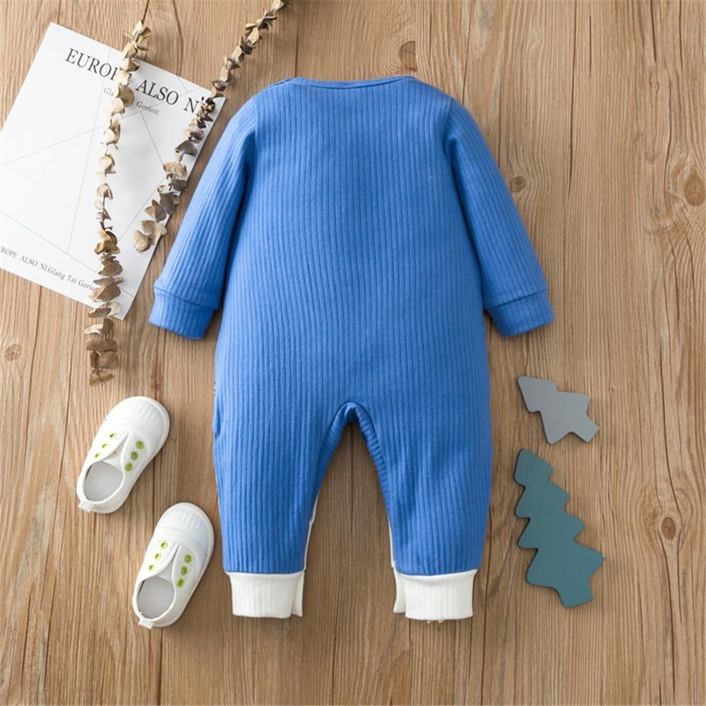 Baby Unisex Cartoon Long Sleeve Cute Romper Baby Clothing Cheap Wholesale